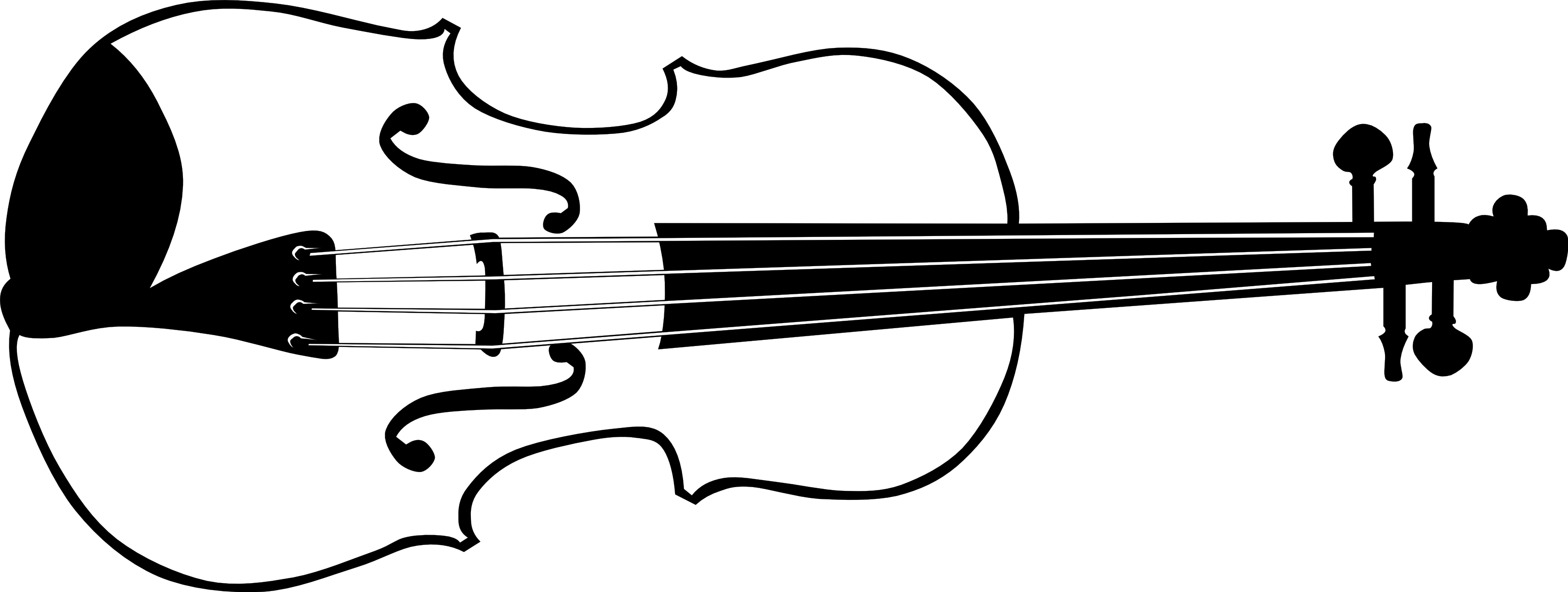 Black white pencil and. Purple clipart violin