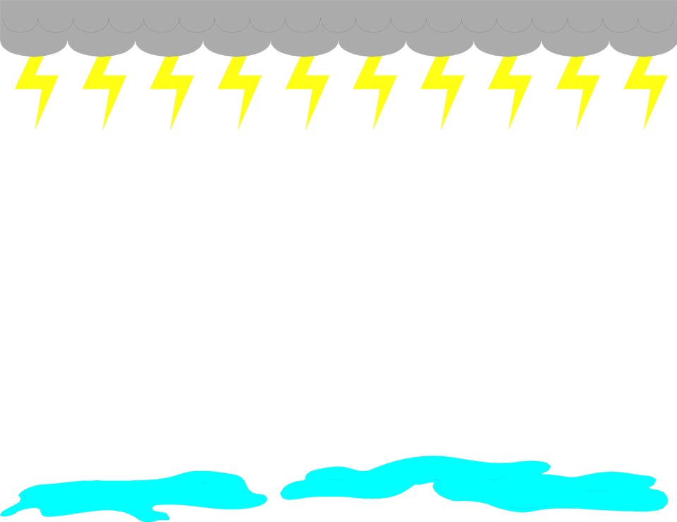 Lightning border pencil and. Raindrop clipart cartoon