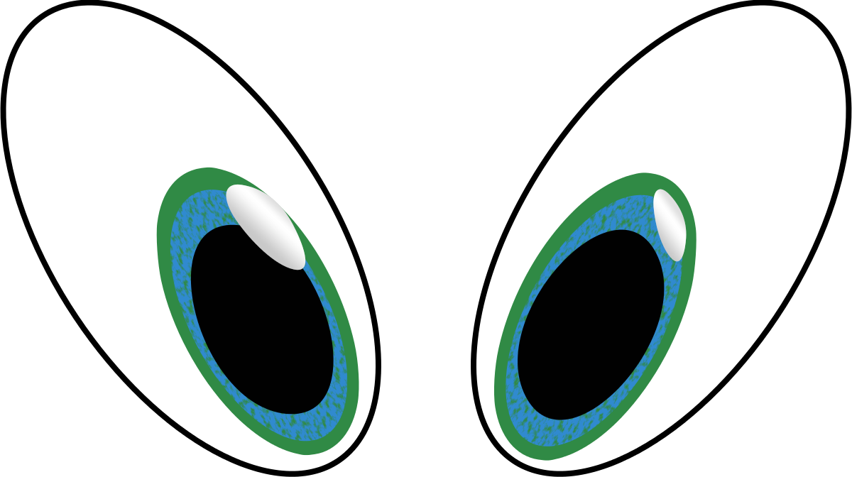 Clipart shark eye. Eyeball eyes cartoon clip