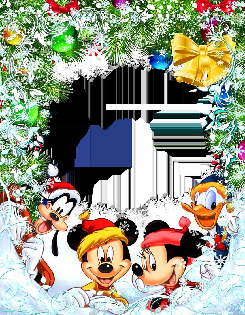 Transparent christmas star frame. Disneyland clipart letterhead