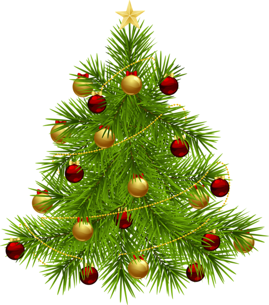 Transparent png christmas tree. Clipart door xmas