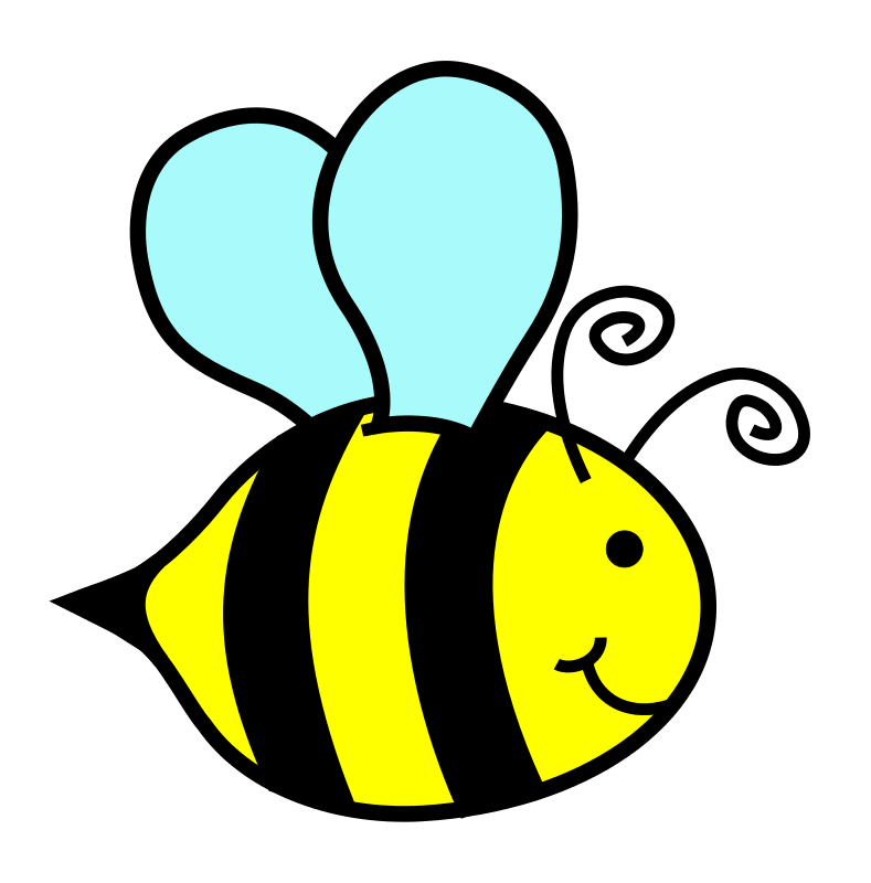 Authentic cartoon bees pictures. Clipart free bumble bee