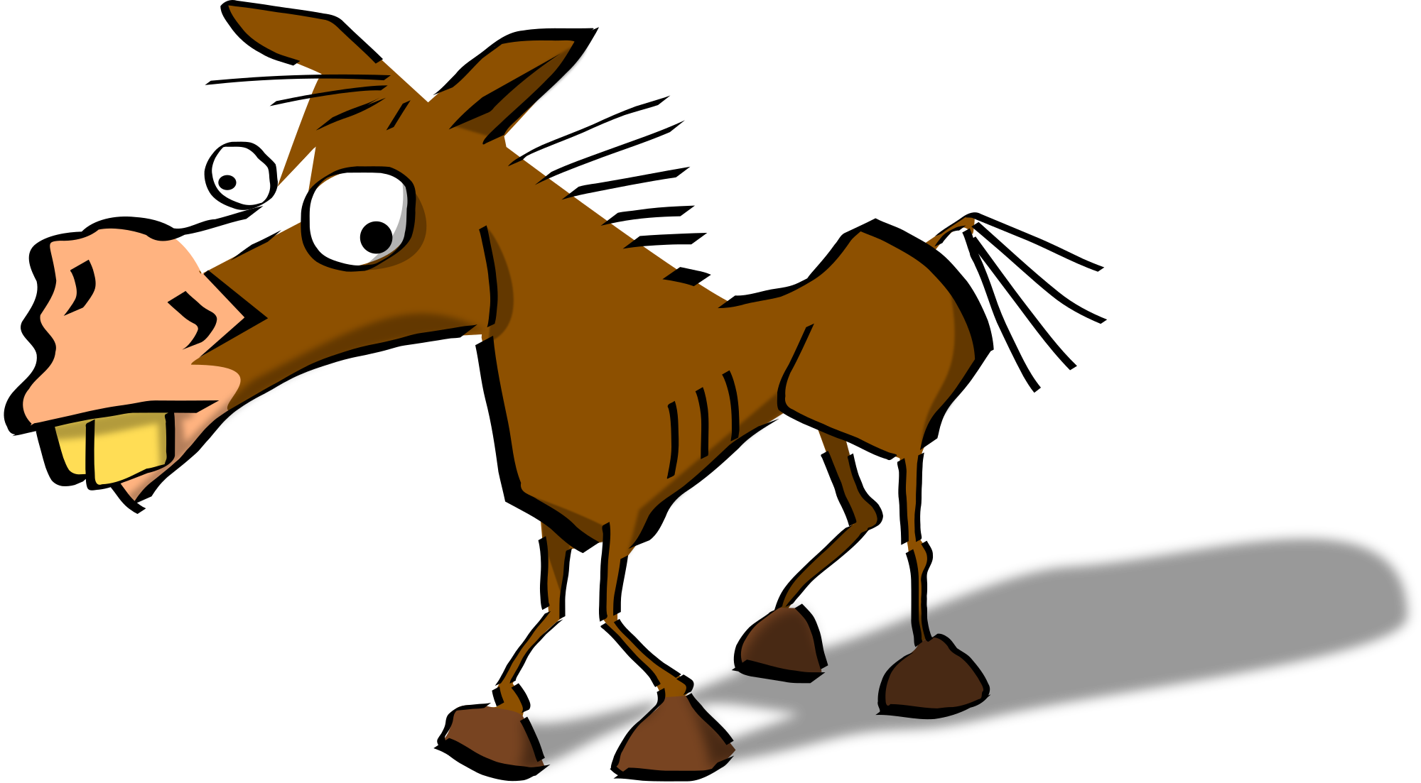 Realistic unicorn at getdrawings. Donkey clipart tiny horse