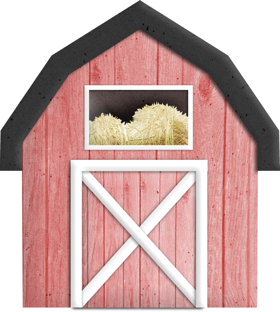 farmhouse clipart cattle shed