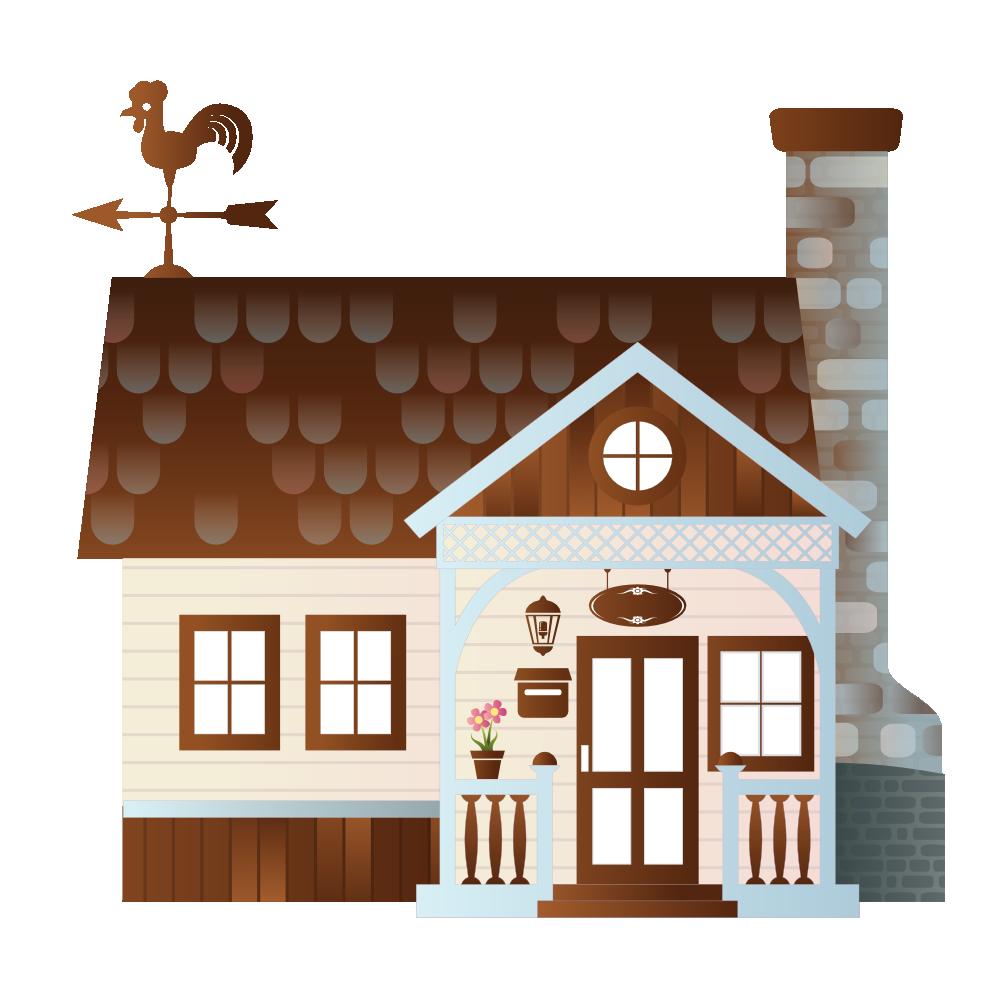 Farming clipart clip art. Of a farm house