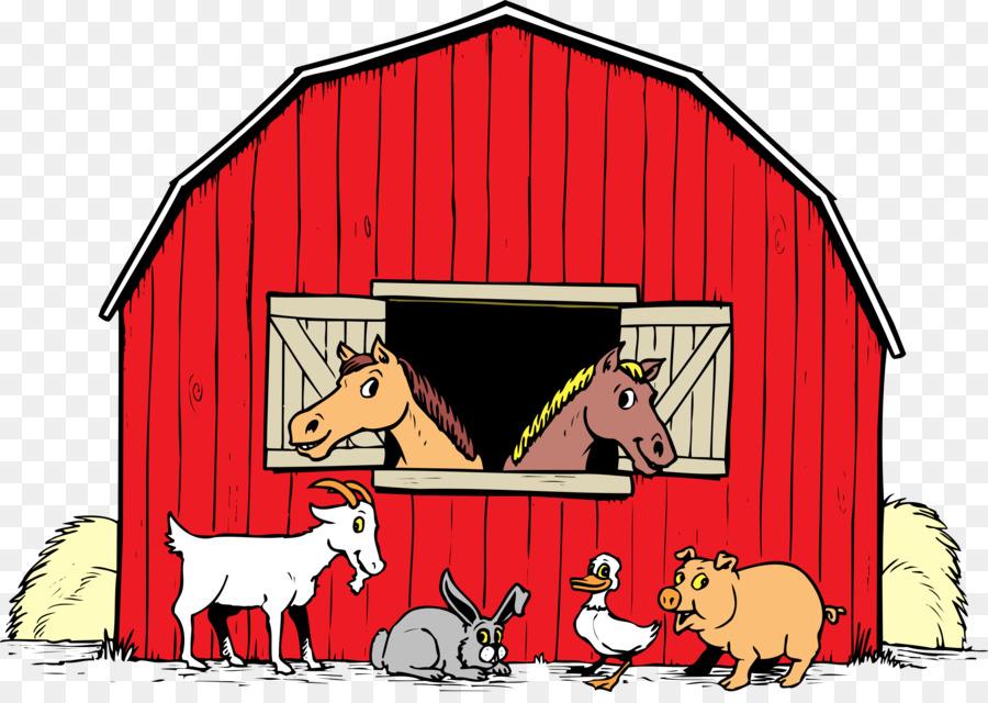 House cartoon farm red. Farmhouse clipart transparent