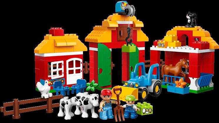 Legos clipart construction lego. Big farm duplo products