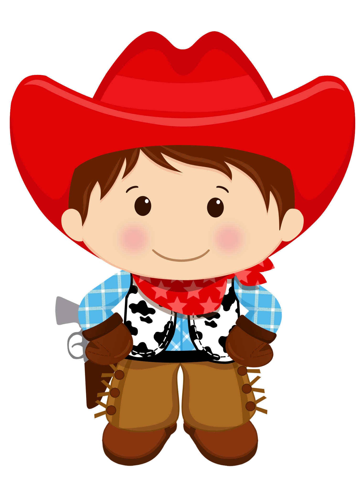 Cowgirl clipart lil. Brown haired cowboy pinterest