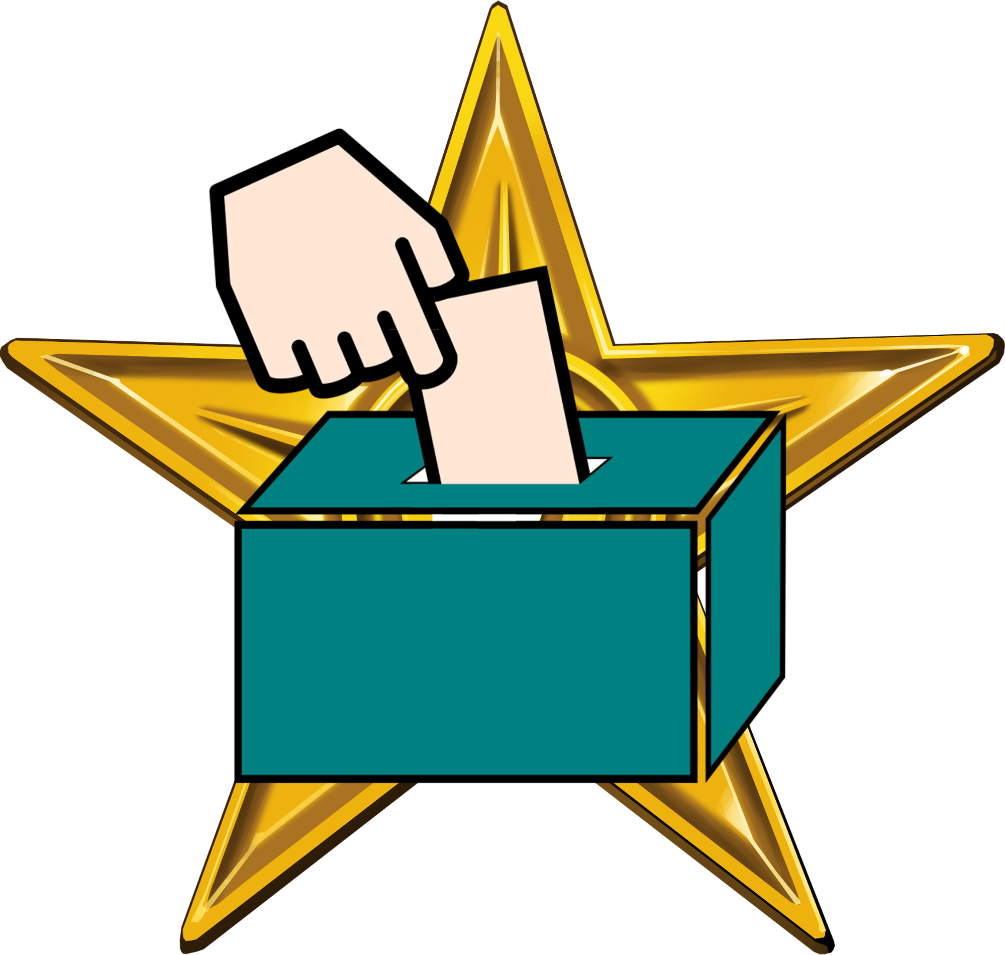 Clipart definition context. File barnstar of democracy