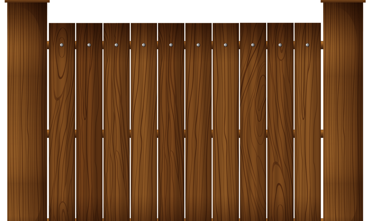 Wood Fence Background Clip Art