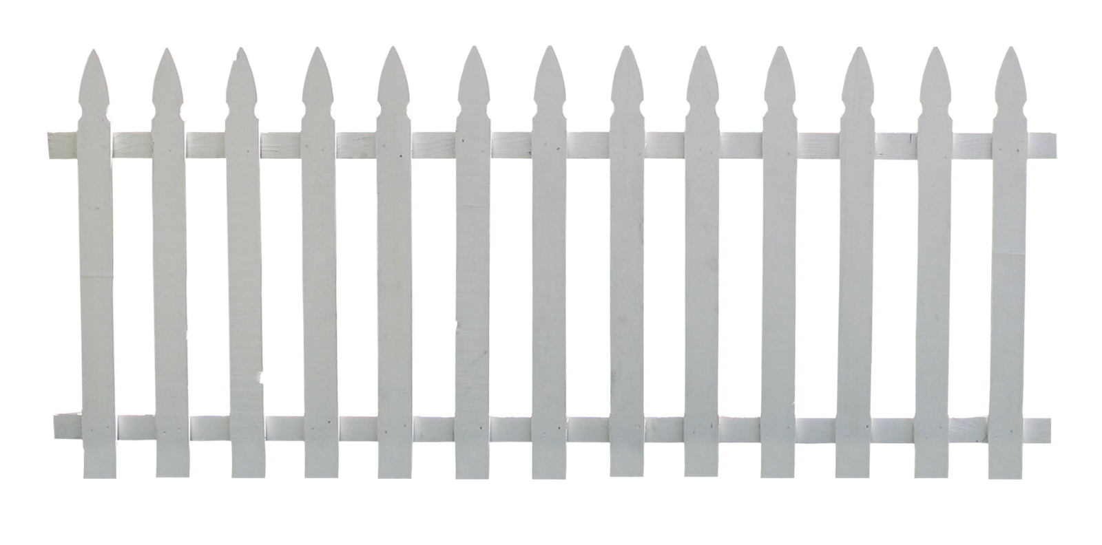 Silhouette of picket fence. Fencing clipart house gate