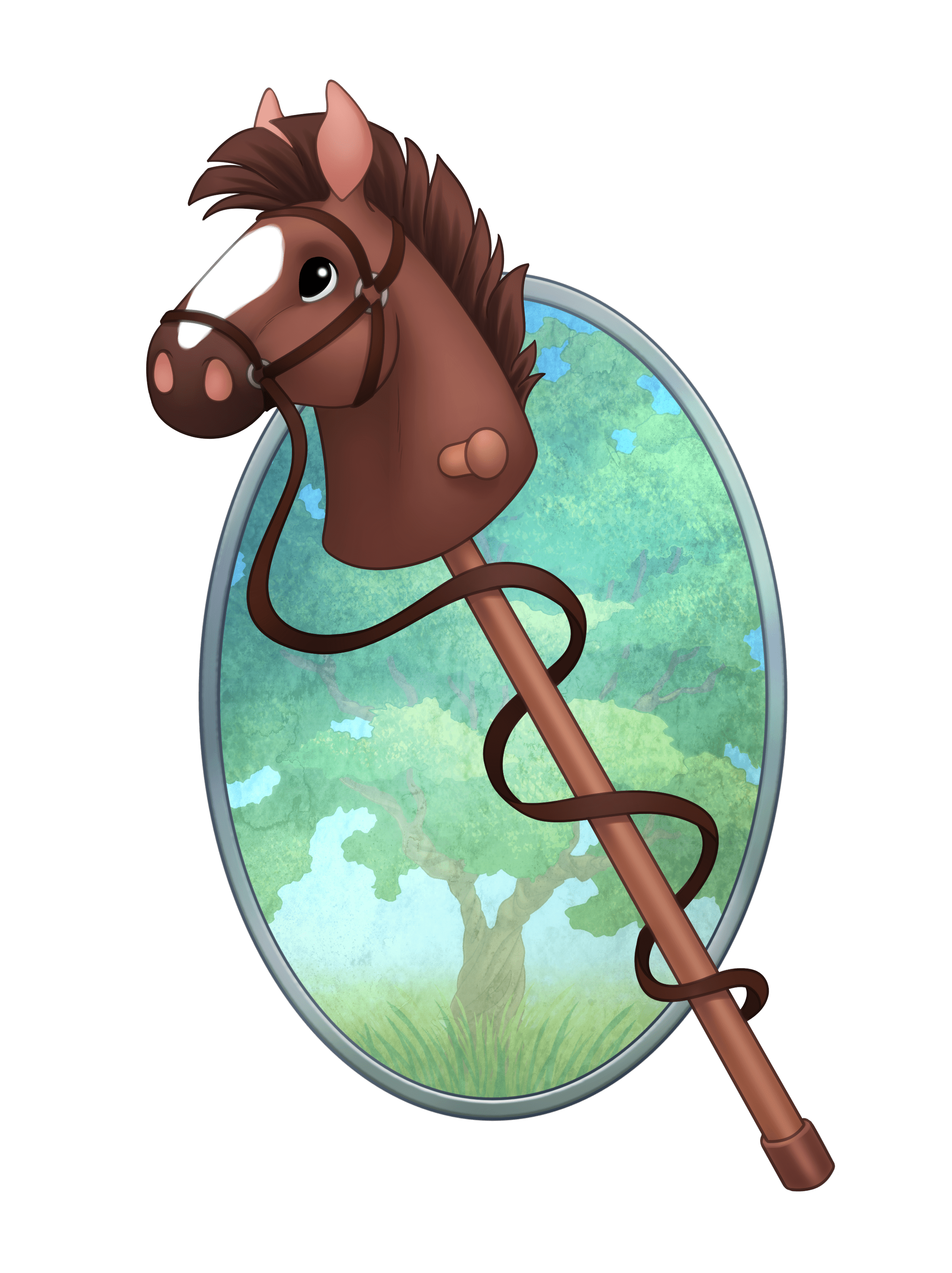 Showering clipart inclement weather. Hobby horse shows white