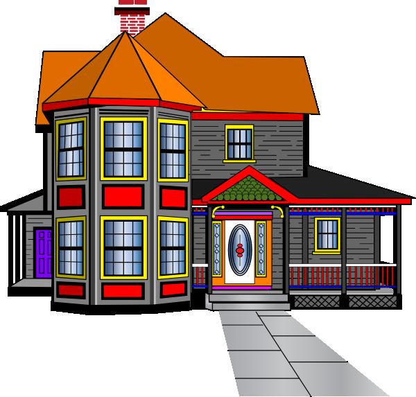 Big house best cute. Clipart barn large