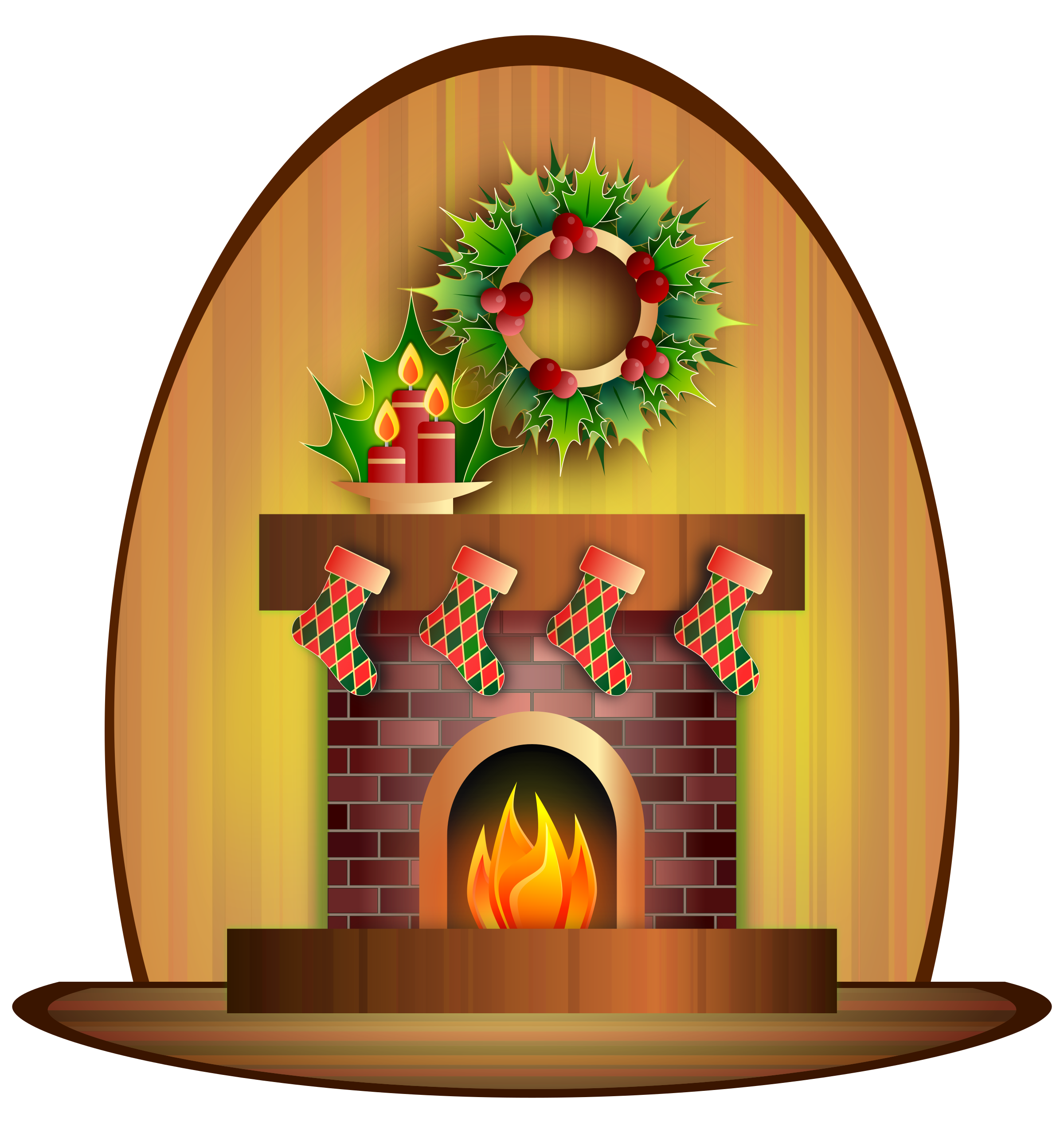 Fireplace clipart victorian fireplace. Christmas big image png