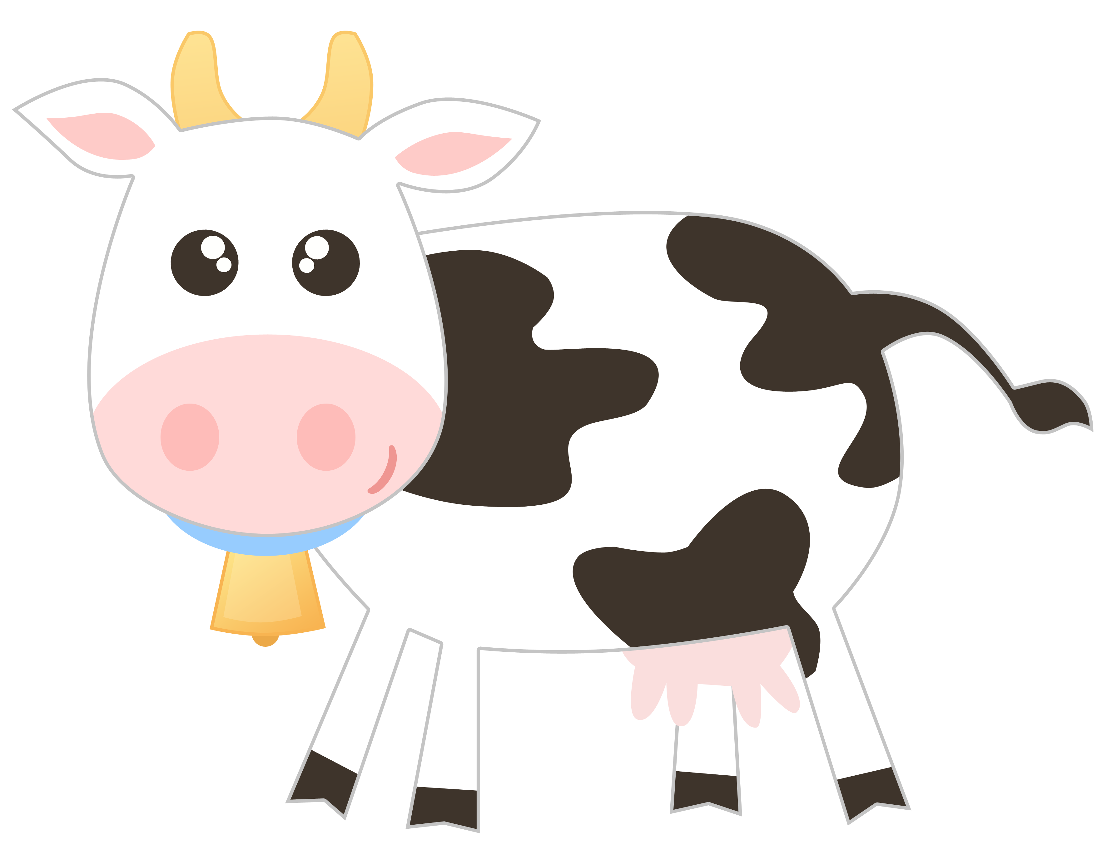 Cow Clipart Nose, Cow Nose Transparent FREE For Download