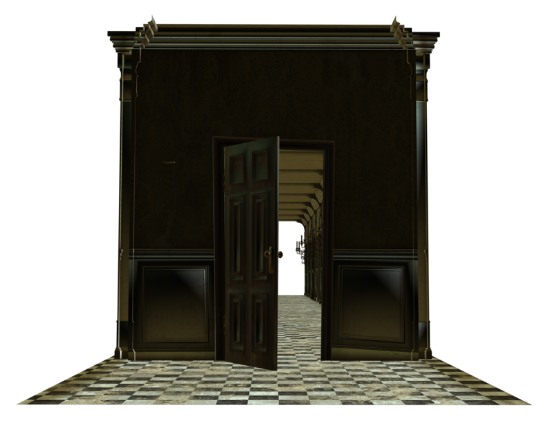 Door clipart opening door. Room house open cut
