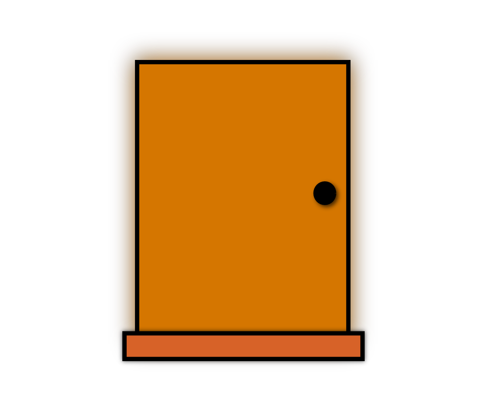 Clipart castle doors. Open door at getdrawings