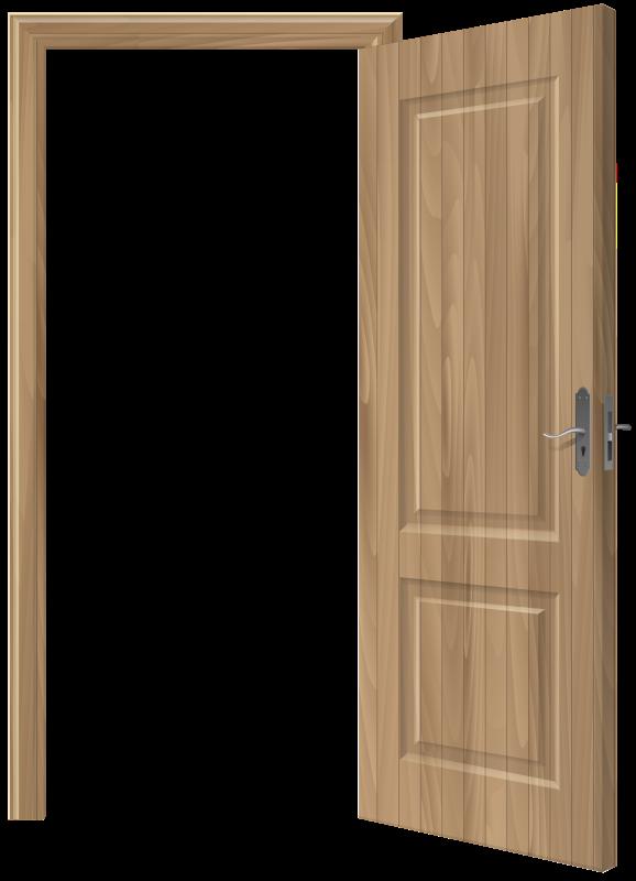 Clipart door coloring. Open hubpicture pin