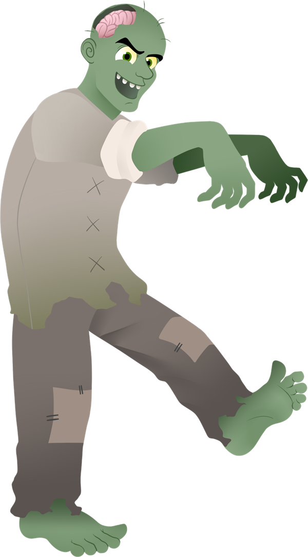 Zombie clipart zombie graveyard.  collection of png