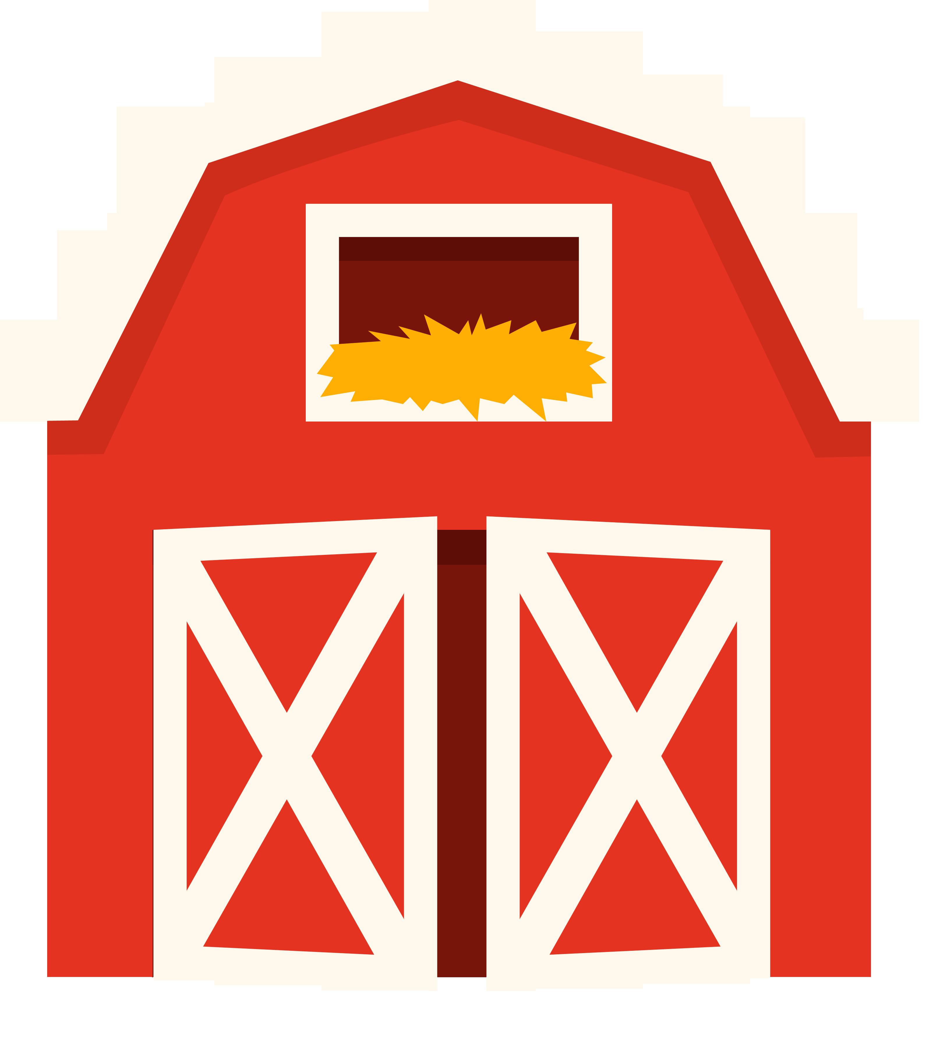 Clipart barn pen. Cattle farm clip art