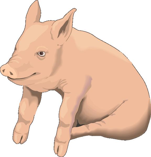 Mud clipart slop. Sitting pig clip art