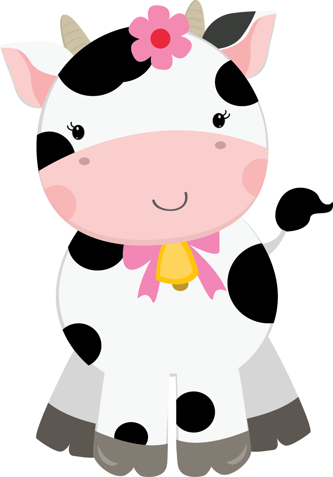 Cows clipart tooth. Cherry farm friends for