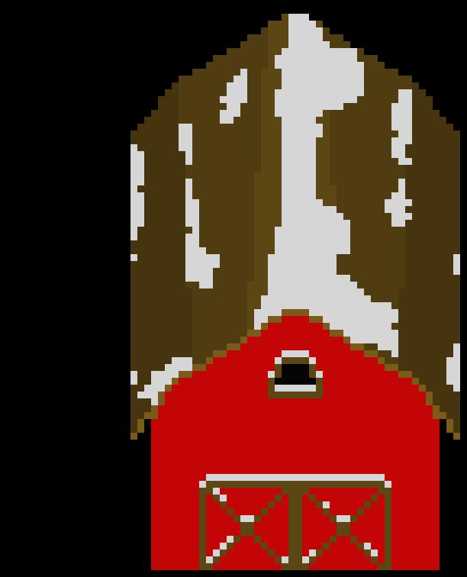 Clipart Barn Pixel Art Clipart Barn Pixel Art Transparent