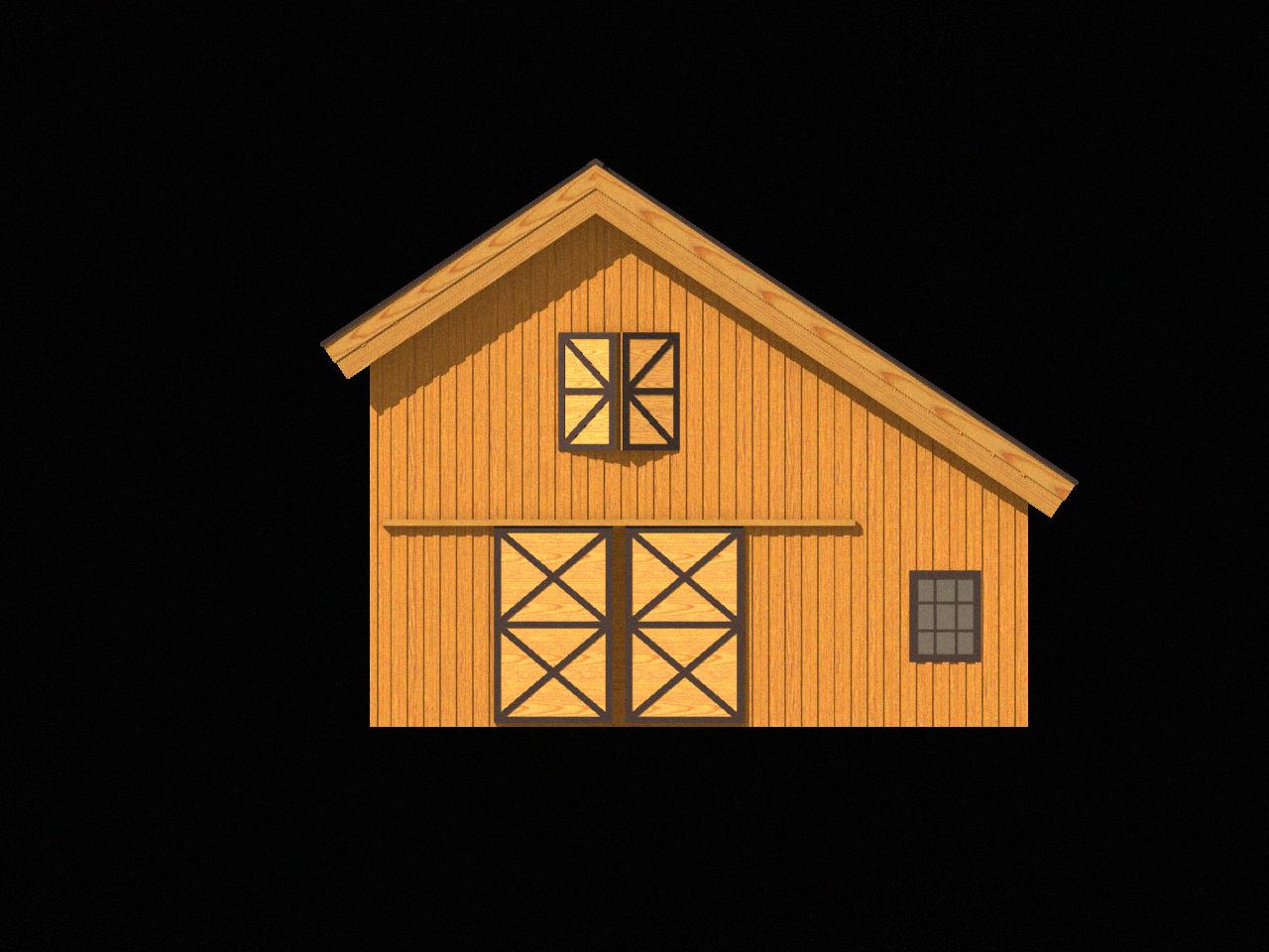 Kit styles legacy post. Clipart barn pole barn