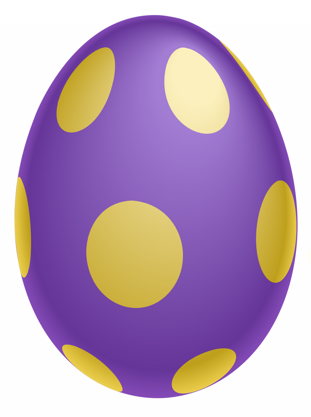 Free printable clip art. Purple clipart easter egg