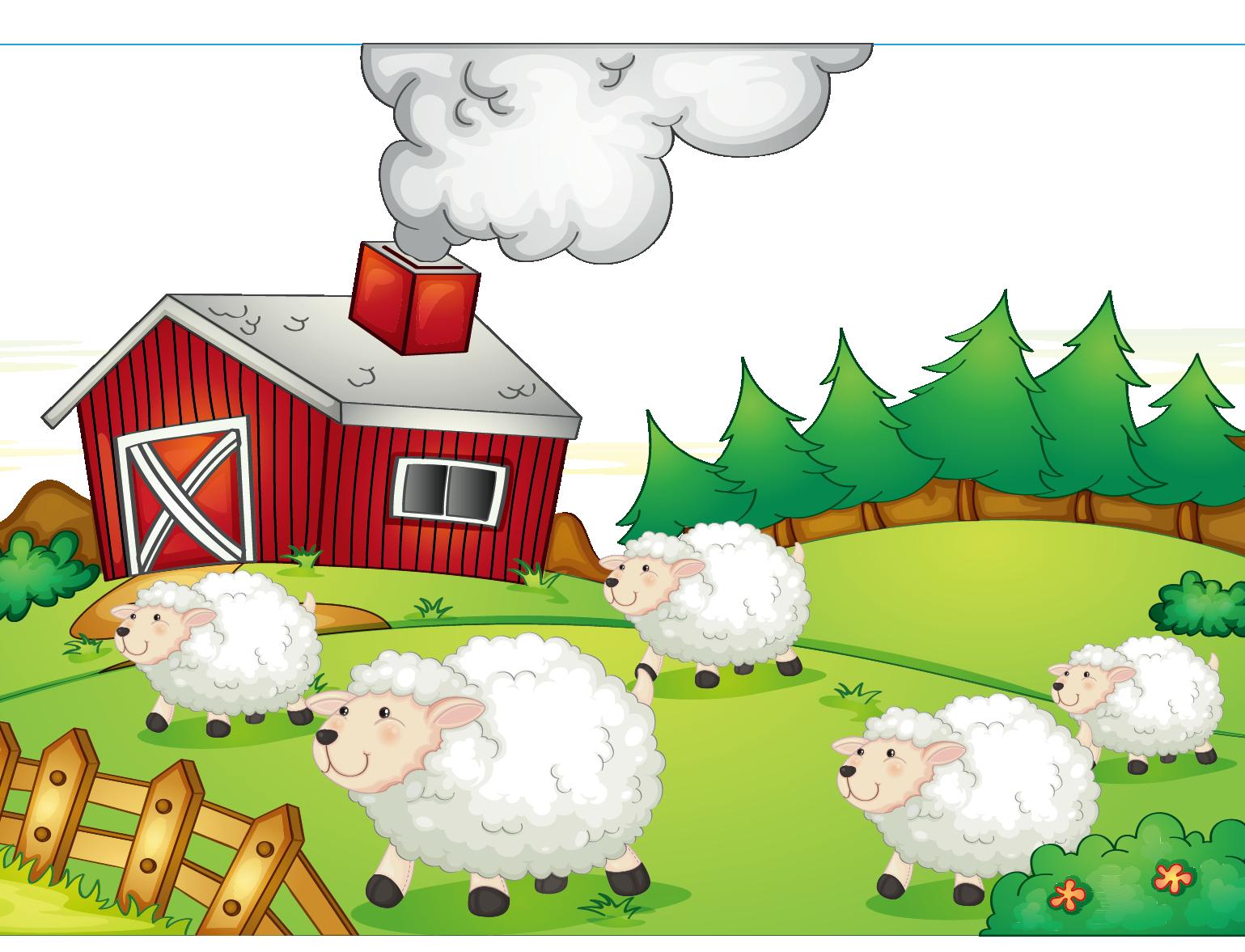 Farming clip art pastoral. Sheep clipart shee