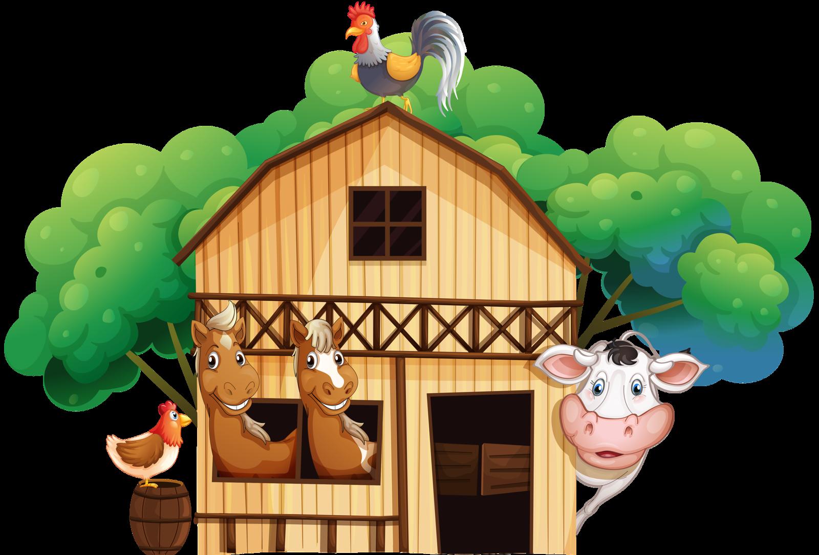 png barn. Farmhouse clipart ranch house