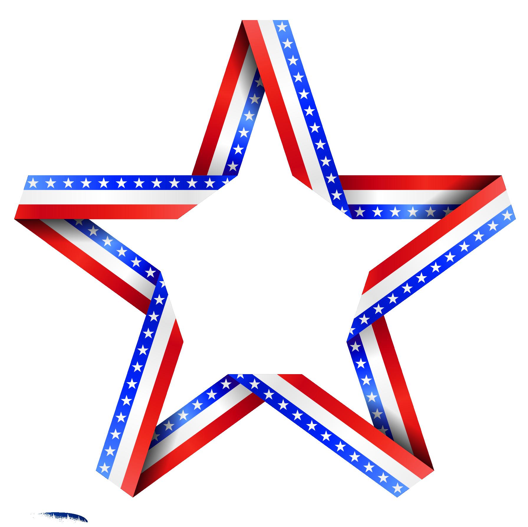 American star decor png. Patriots clipart clip art