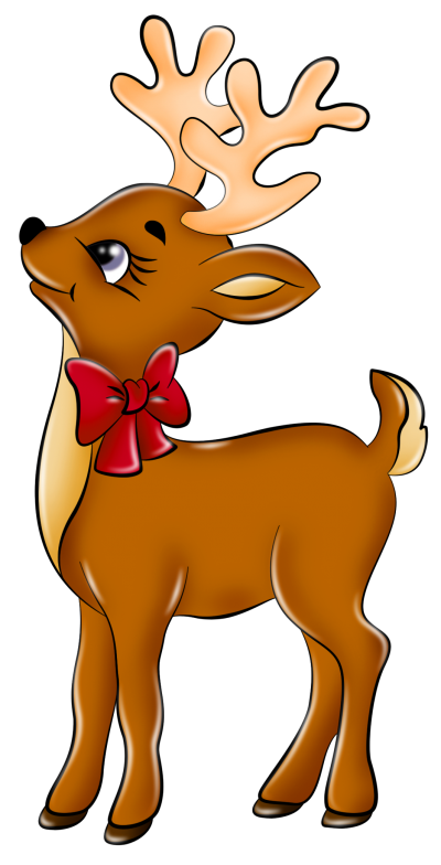 Clipartaz free collection image. Winter clipart reindeer