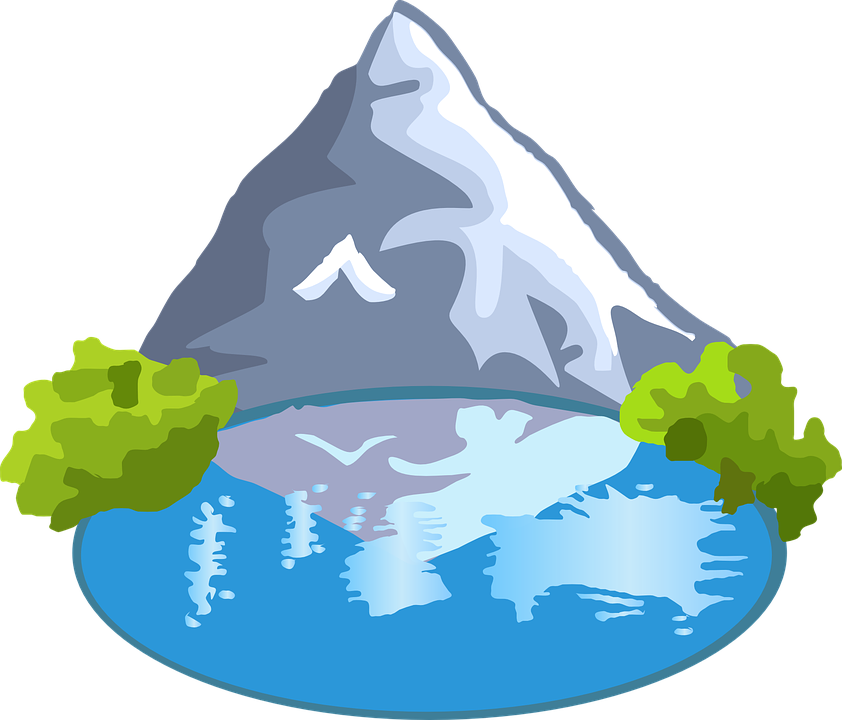 Clipart winter lake.  png google nature