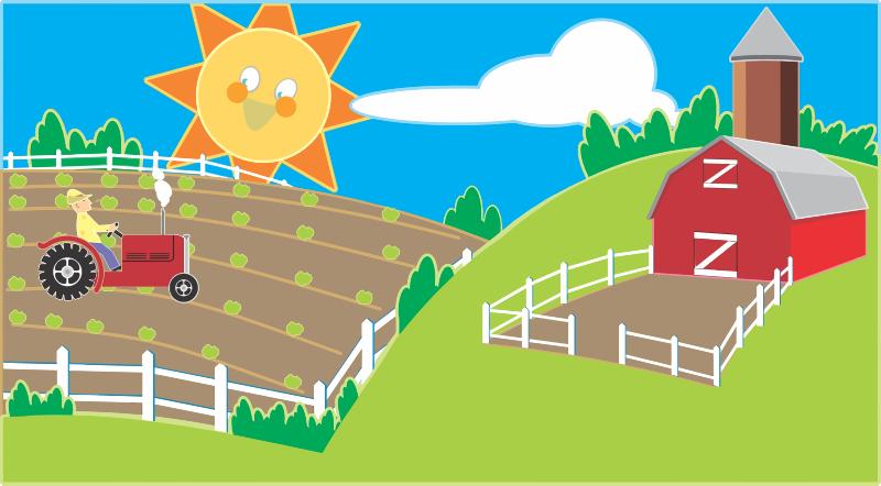 collection of farm. Crops clipart farmland