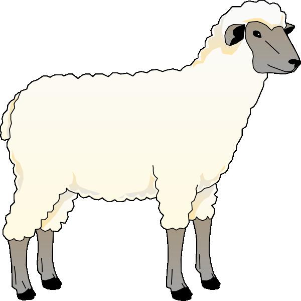 sheep clipart sad