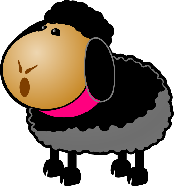Sheep clipart body. Baby at getdrawings com