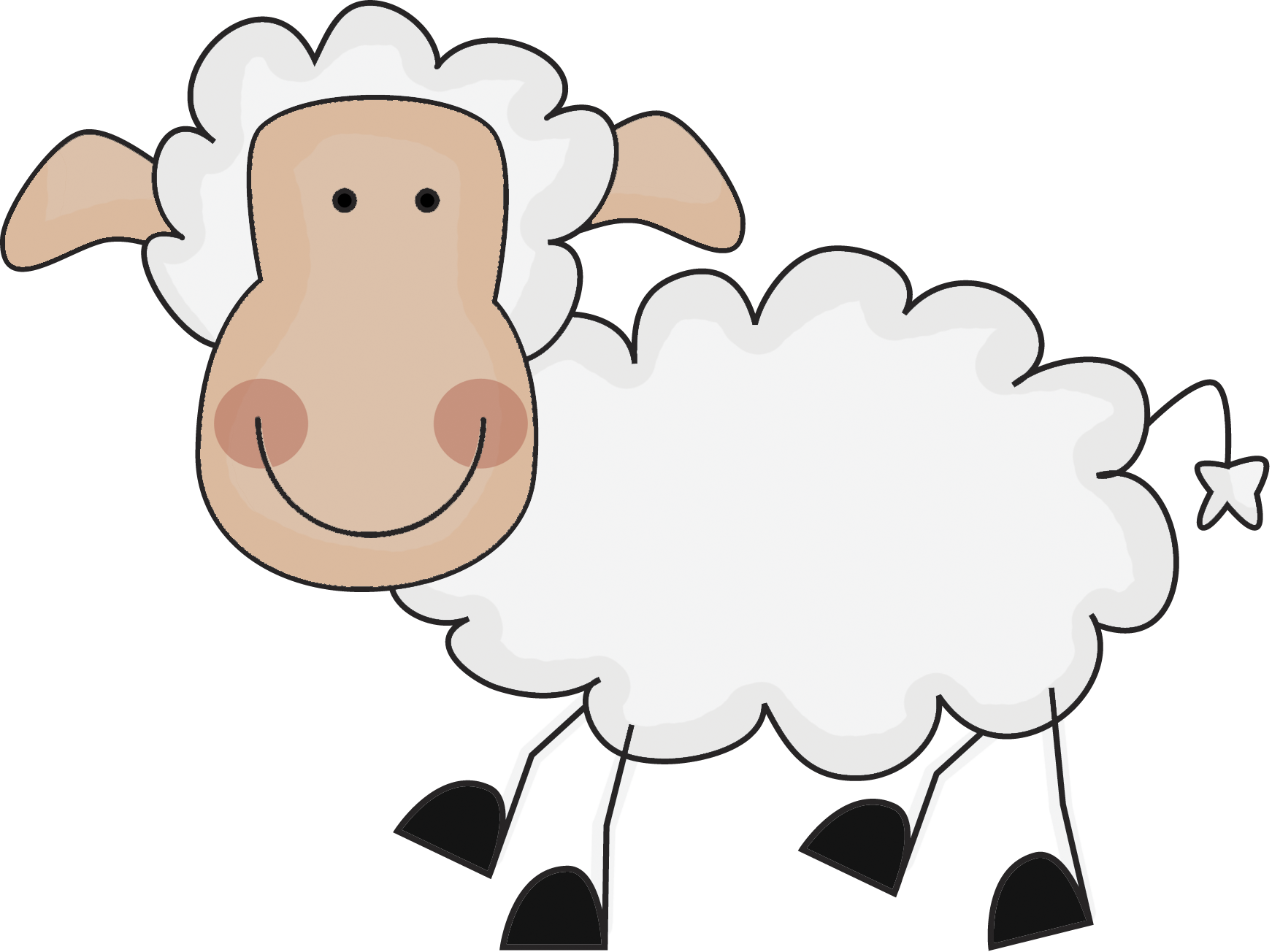 Index of images scrappin. Sheep clipart family