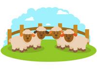 Free farm animals clip. Clipart sheep barnyard