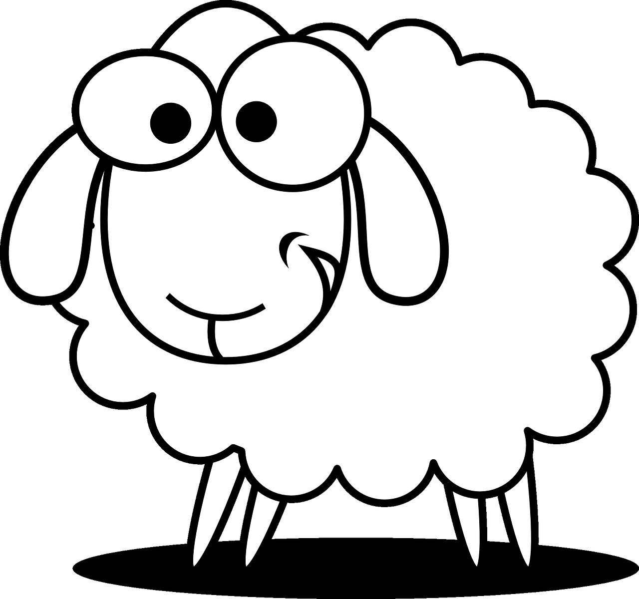 Lamb clipart scared. Free image on pixabay
