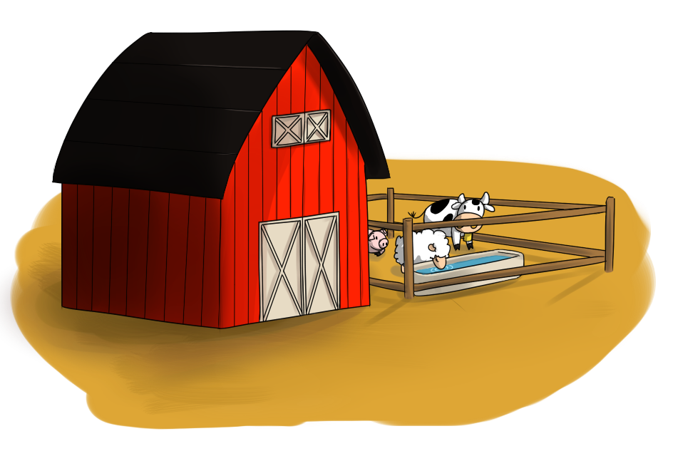 Cattle clipart home.  collection of farm