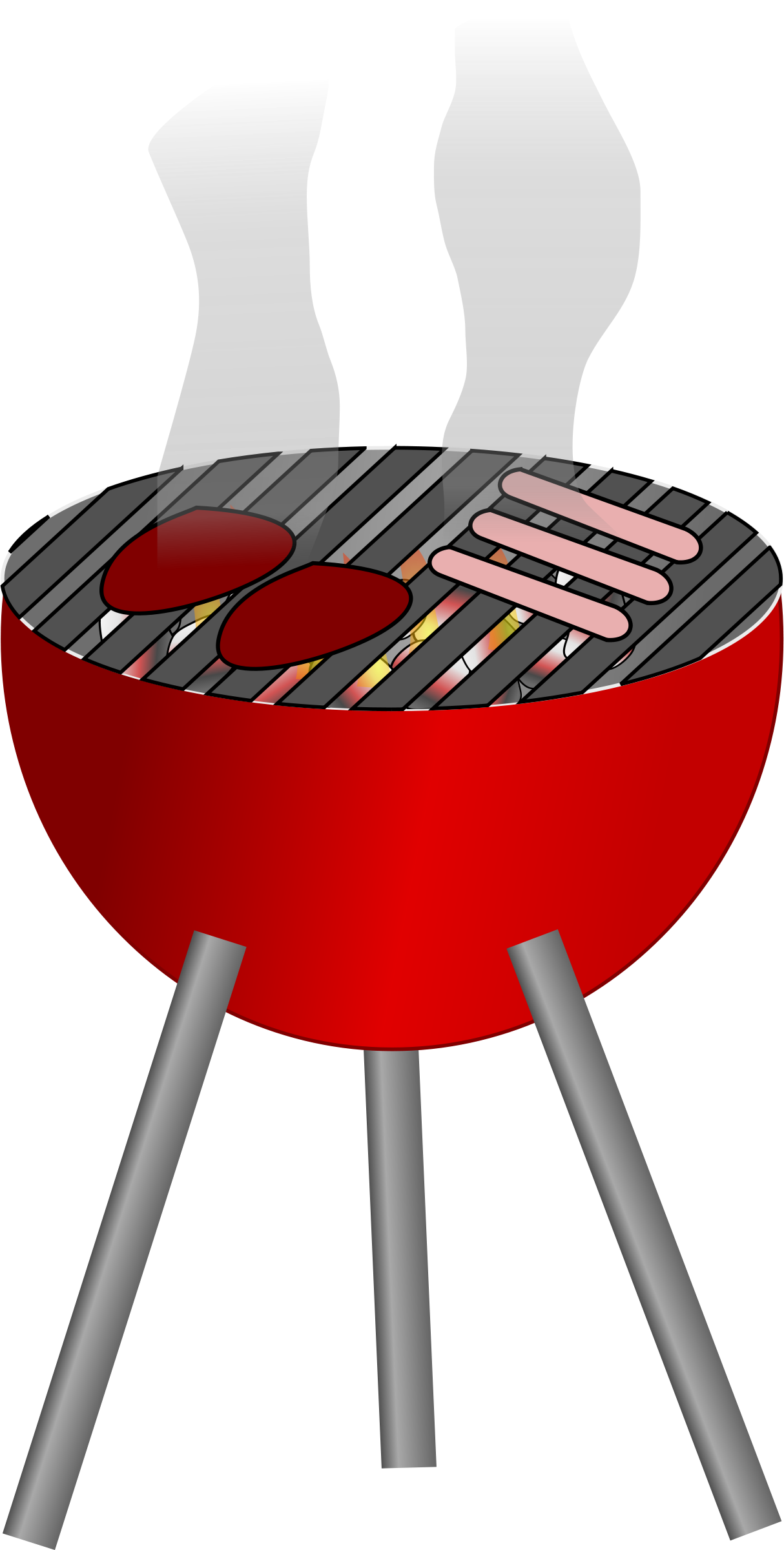 collection of grill. Words clipart bbq