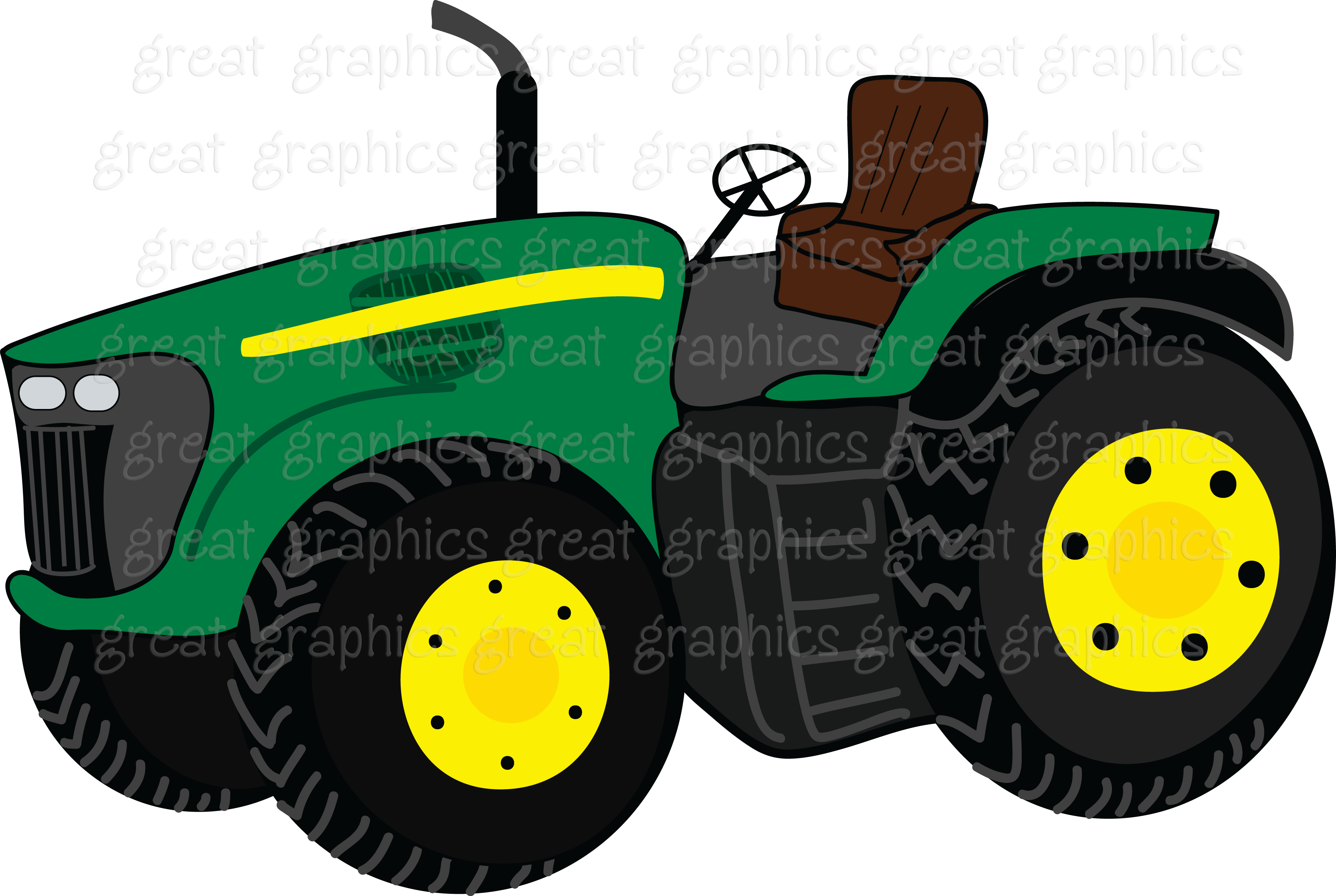 Purple clipart tractor. Cartoon john deere google