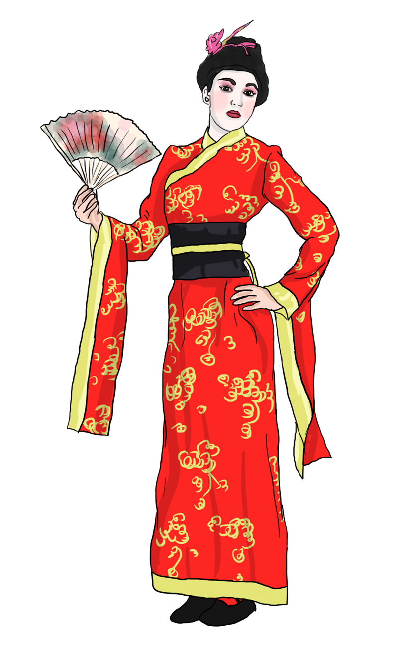 Culture clipart traditional clothing. Free japanese image clipartbarn