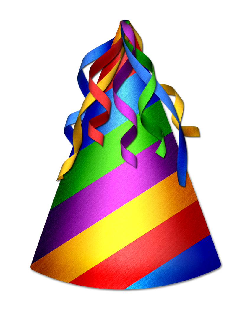Clipart barn transparent background. Birthday hat clip art