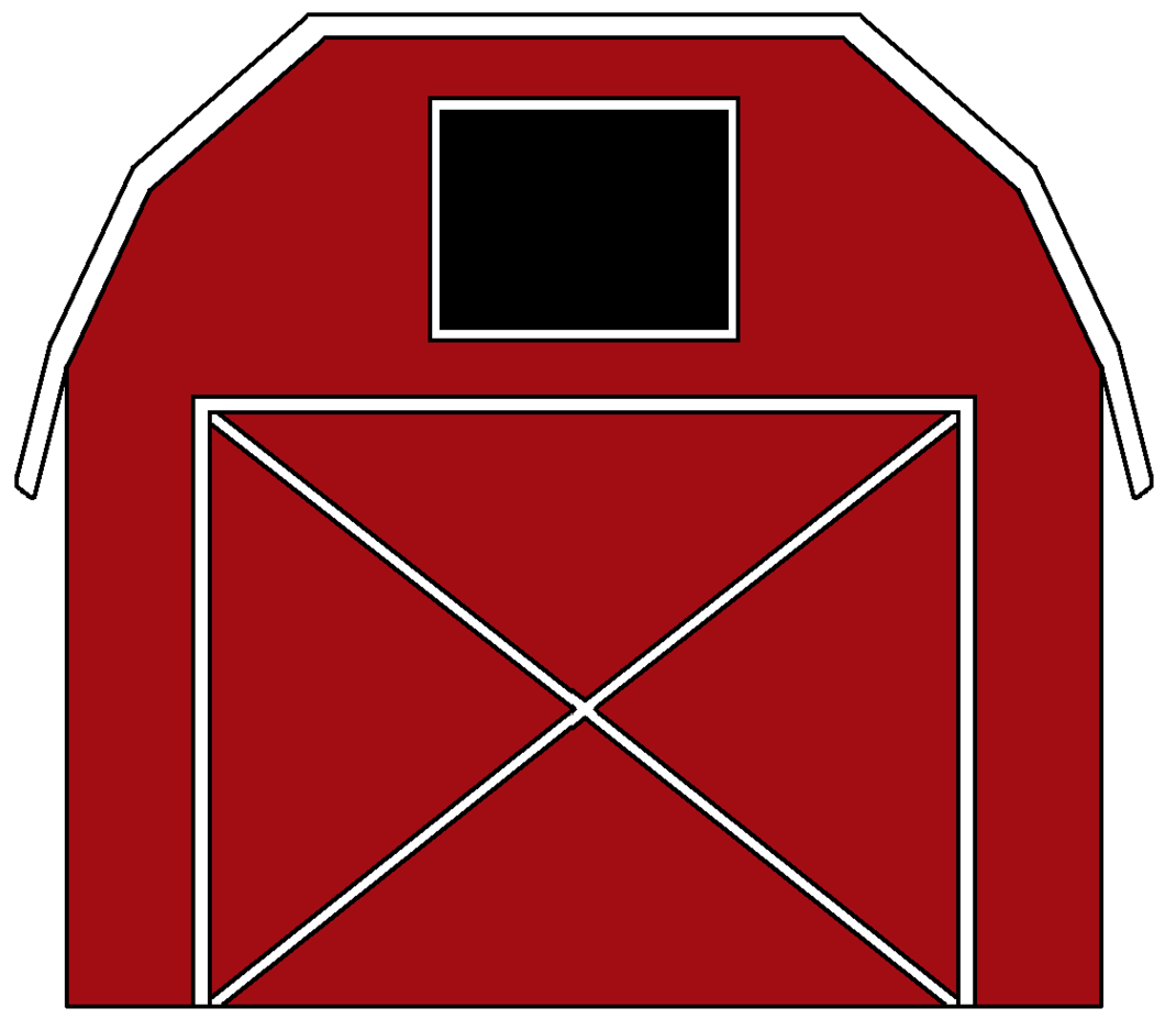 Clip art minimalist medium. Clipart barn transparent background
