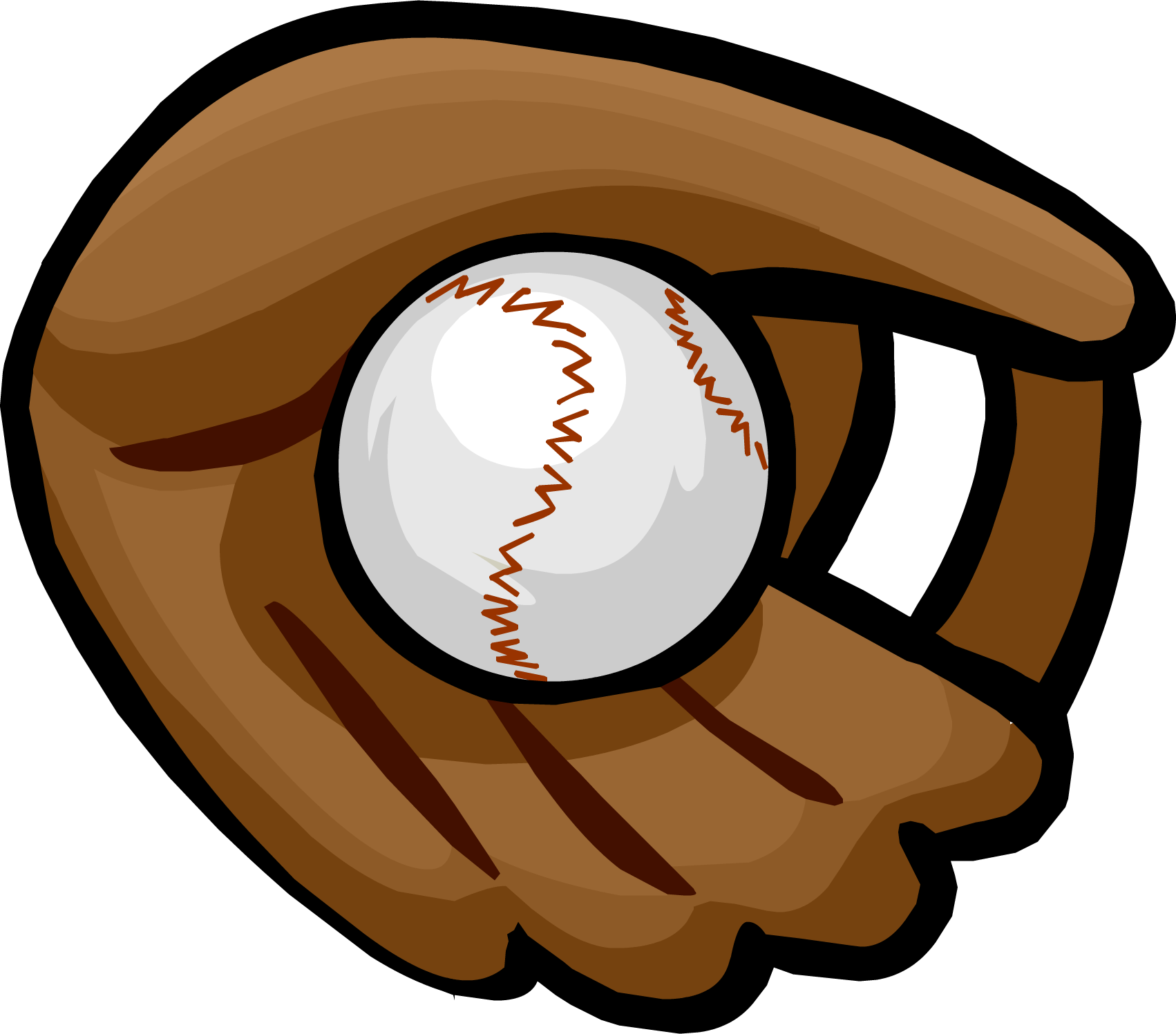 Game clipart baseball. Glove vector clip art
