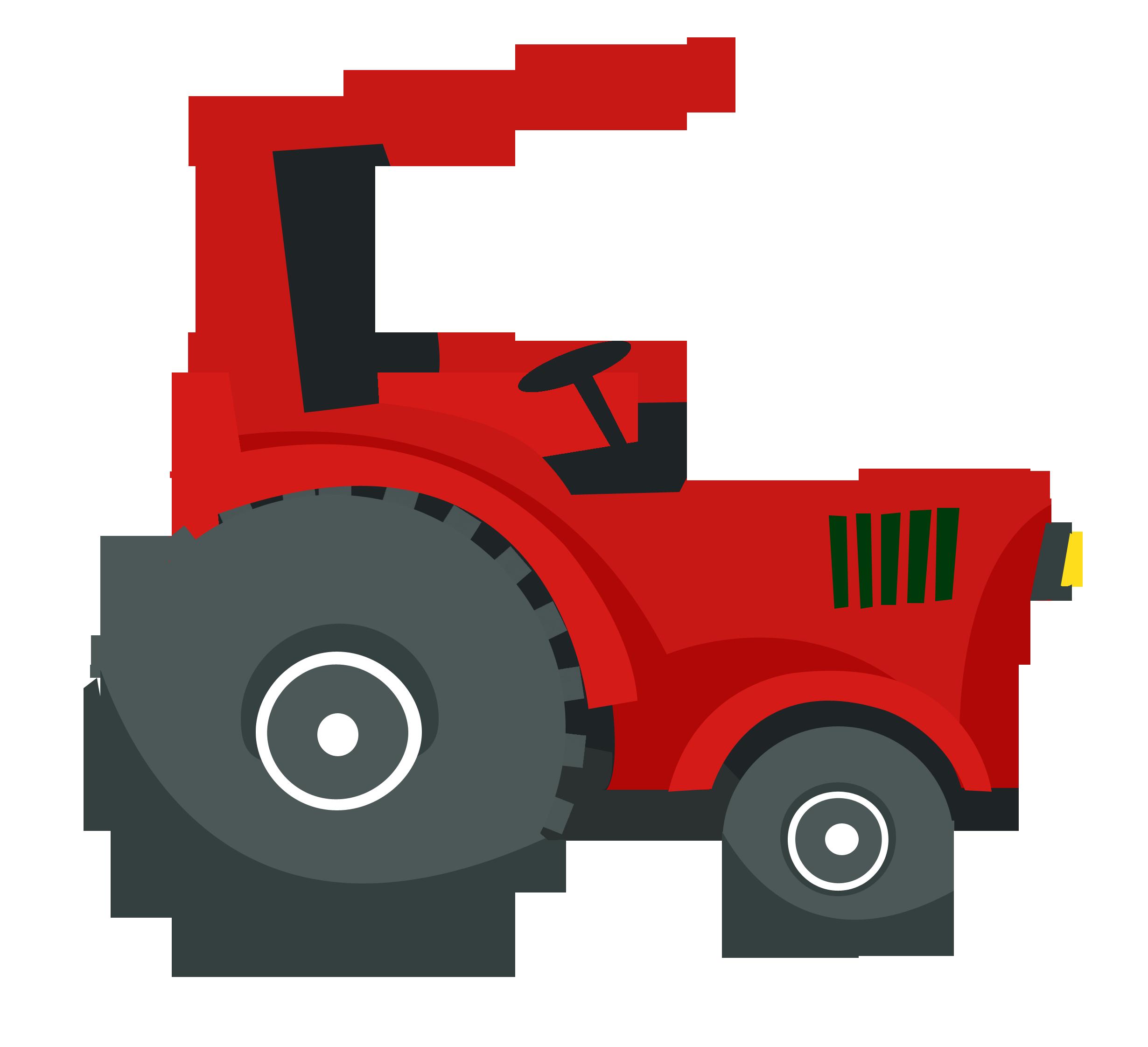 Excavator clipart tractor caterpillar. Fazenda cat on the