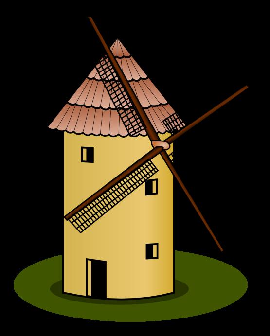 Panda free images villageclipart. Wheel clipart windmill