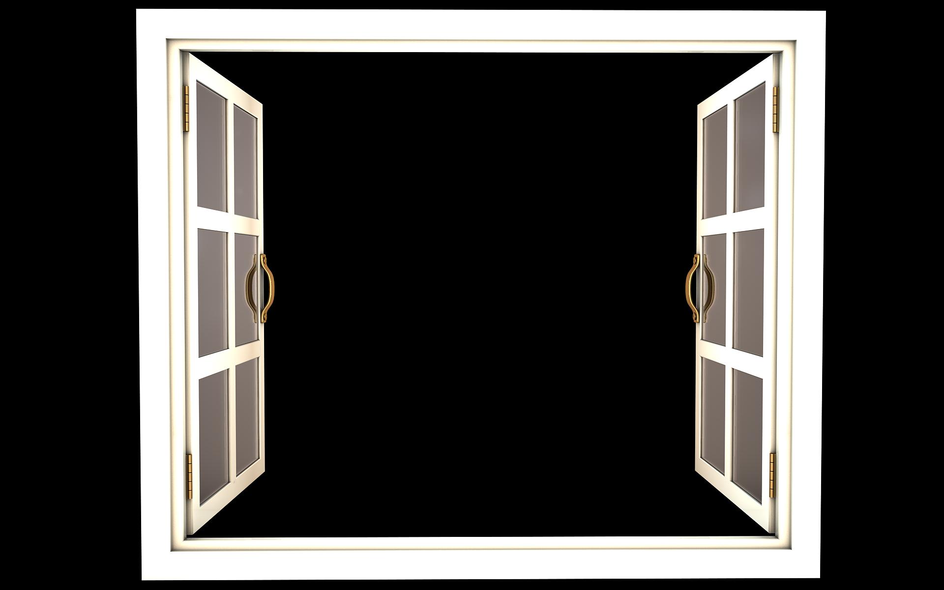 x png tfa. White clipart window frame